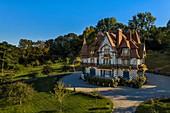 France, Calvados, Pays d'Auge, Deauville, Strassburger Villa