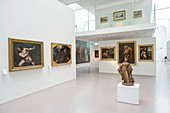 France, Savoie, Chambery, a showroom of the Museum of Fine Arts