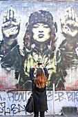 France, Bouches du Rhone, Marseille (6th district), Cours Julien district, street art