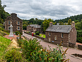 The industrial town of New Lanark, UNESCO World Heritage Site, Scotland, United Kingdom, Europe