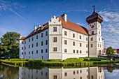 Hohenkammer Castle in Upper Bavaria, Bavaria, Germany