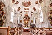 Pilgrimage Church of Maria Gern near Berchtesgaden, Upper Bavaria, Bavaria, Germany