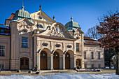 Kurhaus of Bad Reichenhall, Upper Bavaria, Bavaria, Germany