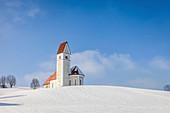 Florian Church in Greimelberg, Upper Bavaria, Bavaria, Germany