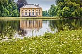 Badenburg Pavillion in Nymphenburg Palace, Munich, Upper Bavaria, Bavaria, Germany