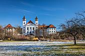 Schlehdorf Monastery, Schlehdorf, Upper Bavaria, Bavaria, Germany