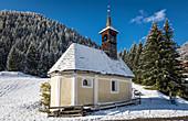 Maxer-Kirchl to St. John of Nepomuk, Innervillgraten, Villgratental, East Tyrol, Tyrol, Austria