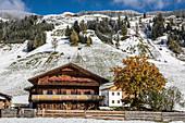 Historic mountain farm in Innervillgraten, Villgratental, East Tyrol, Tyrol, Austria