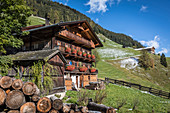 Old mountain farm in Innervillgraten, Villgratental, East Tyrol, Tyrol, Austria