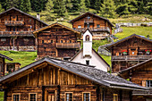 Oberstalleralm in the Arntal, Innervillgraten, Villgratental, East Tyrol, Tyrol, Austria