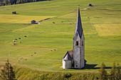 Filial church St. Georg in Großdorf, Kals am Großglockner, East Tyrol, Tyrol, Austria