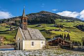 Maxer-Kirchl zum heiligen Johannes von Nepomuk, Innervillgraten, Villgratental, Osttirol, Tirol, Österreich