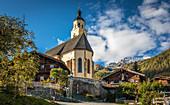 Pilgrimage church Maria Schnee in Obermauern, Virgental, East Tyrol, Tyrol, Austria
