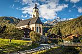 Wallfahrtskirche Maria Schnee in Obermauern, Virgental, Osttirol, Tirol, Österreich