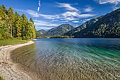 Plansee near Reutte in Tirol, Tyrol, Austria