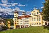 Stams Abbey in the Inn Valley, Tyrol, Austria