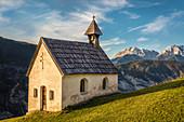 House chapel in Haimingerberg above the Inn Valley, Tyrol, Austria