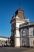 Street scene in the city center, Kazan, Kazan District, Republic of Tatarstan, Russia, Europe