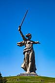The Giant Motherland Reputation Statue, Volgograd, Volgograd District, Russia, Europe