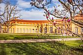 Orangerie im Schlossgarten in Erlangen, Mittelfranken, Bayern, Deutschland