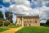 The chateau de la Roche Jagu, Brittany, France, Europe