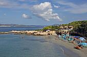 Gradakia Beach in Lassi, Insel Kefalonia, Ionische Inseln, Griechenland