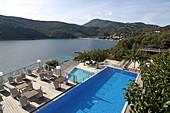San Nicolas Resort, Mikro Gialos, south coast of Lefkada Island, Ionian Islands, Greece