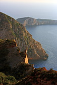 West coast at Volimes, Zakynthos Island, Ionian Islands, Greece