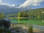Eibsee, Zugspitze, Bavaria, Germany