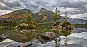 Hintersee, Hochkalter, Berchtesgadener Land, Bavaria, Germany
