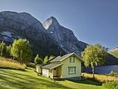 House, Stetind, Stefjord, Stefjordbotn, Tysfjord, Ofoten, Nordland, Norway