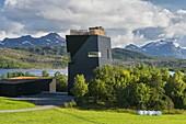 Knut Hamsum center, Oppeide, Hamaroy, Ofoten, Nordland, Norway