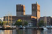 City Hall, Harbor, Oslo, Norway