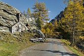Felsenkapelle, Innergschlöss, Osttirol, Tirol, Österreich