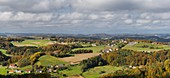 View from the Riegersburg, Styria, Austria