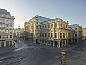 Vienna State Opera from the Albertina, 1st district Innere Stadt, Vienna, Austria