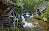 old watermills, Bodental, Carinthia, Austria