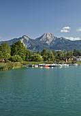 Mittagskogel und Faaker See, Kärnten, Österreich
