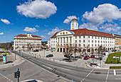 Rathaus Sonneberg, City of Sonneberg, Thuringia, Germany