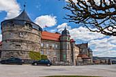 Festung Rosenberg in Kronach, Bayern, Deutschland