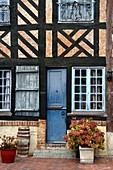 France, Calvados, Pays d'Auge, Beuvron en Auge, labelled Les Plus Beaux Villages de France (The Most Beaul Villages of France),