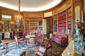 France, Paris, Nissim museum of Camondo, the library