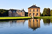 France, Seine Maritime, Pays de Caux, Cany Barville, the Cany castle