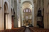 France, Calvados, Caen, Abbaye aux Hommes (Men Abbey), Saint Etienne abbey church