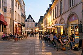 France, Cote d'Or, Dijon, area listed as World Heritage by UNESCO, rue Vauban