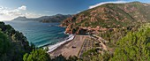 France, Corse du Sud, Gulf of Porto, listed as World Heritage by UNESCO, Porto