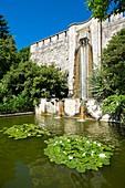 France, Paris, along the GR® Paris 2024, metropolitan long-distance hiking trail created in support of Paris bid for the 2024 Olympic Games, Maison Blanche district, Kellermann park