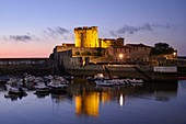 France, Pyrenees Atlantiques, Basque Country coast, Ciboure, Socoa Fort built under Louis XIII reworked by Vauban in the bay of Saint Jean de Luz