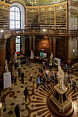 The Austrian National Library in Vienna, Austria, Europe