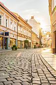 Street scene in Bielsko Biala, Silesia, Poland, Europe